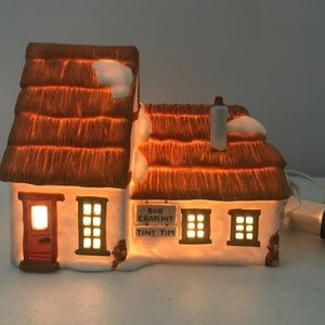 COPY - Dept 56 Bob Cratchit & Tiny Tim House Heri…